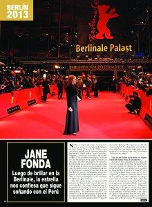 Jane Fonda Hola Perú- 1