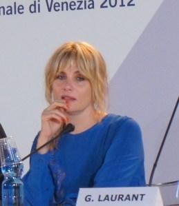 Emmanuelle Seigner en el Festival de Venezia 2012 (Janina Pérez Arias)