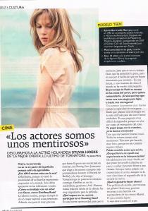 Entrevista publicada en GRAZIA ESP.